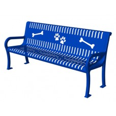 4 Foot Doggie Bench With Arms DL-95454