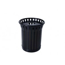 36 GALLON JACKSON RECEPTACLE ASH URN LID PLASTIC LINER Powdercoat