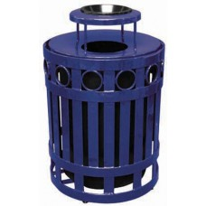 32 Gallon Ring Receptacle with ash bonnet